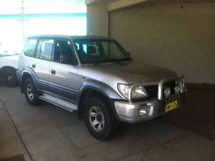 02 Toyota prado 8 seater (May swap) Inverell Inverell Area Preview
