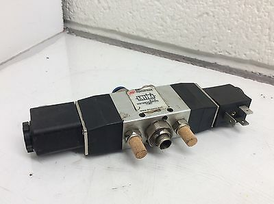 Ingersoll-Rand / ARO Pneumatic Valve, M212SD-024-D-G, Used, WARRANTY