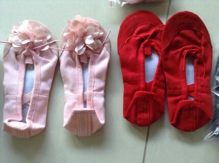 Ballet shoes for adults and children
