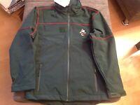 Französische Army Fleecejacke  Fleecehemd mit  Kragen und Reißverschluss Gr.L,XL