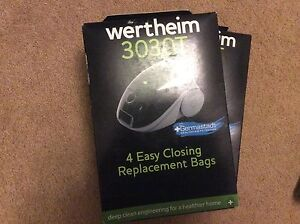 Wertheim 3030T  replacement bags for vacuum cleaner 3 packs of Cherrybrook Hornsby Area Preview
