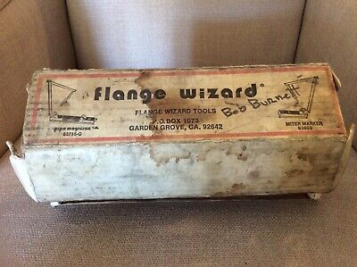 Vintage Flange Wizard Miter Marker Pipe Magician Tools