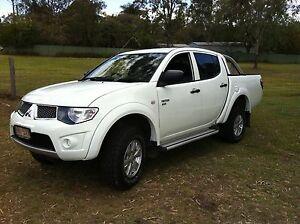Triton turbo dualcab diesel 2012 North Tivoli Ipswich City Preview