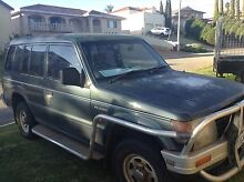 Mitsubishi Pajero nj manual 3ltr v6 engine seized WRECKING!!!!!! Swan View Swan Area Preview