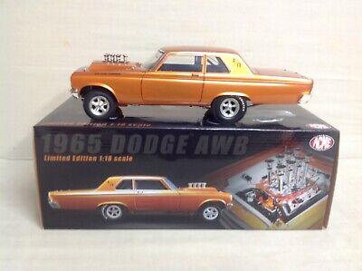 AWB 1965 COPPER METALIC DODGE 426 HEMI 1:18 ACME HIGHWAY 61 A1806502 660 Pcs