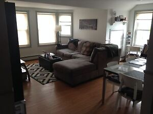 Lovely Bright 2 Bedroom 1 1/2 baths  Downtown  for Sept