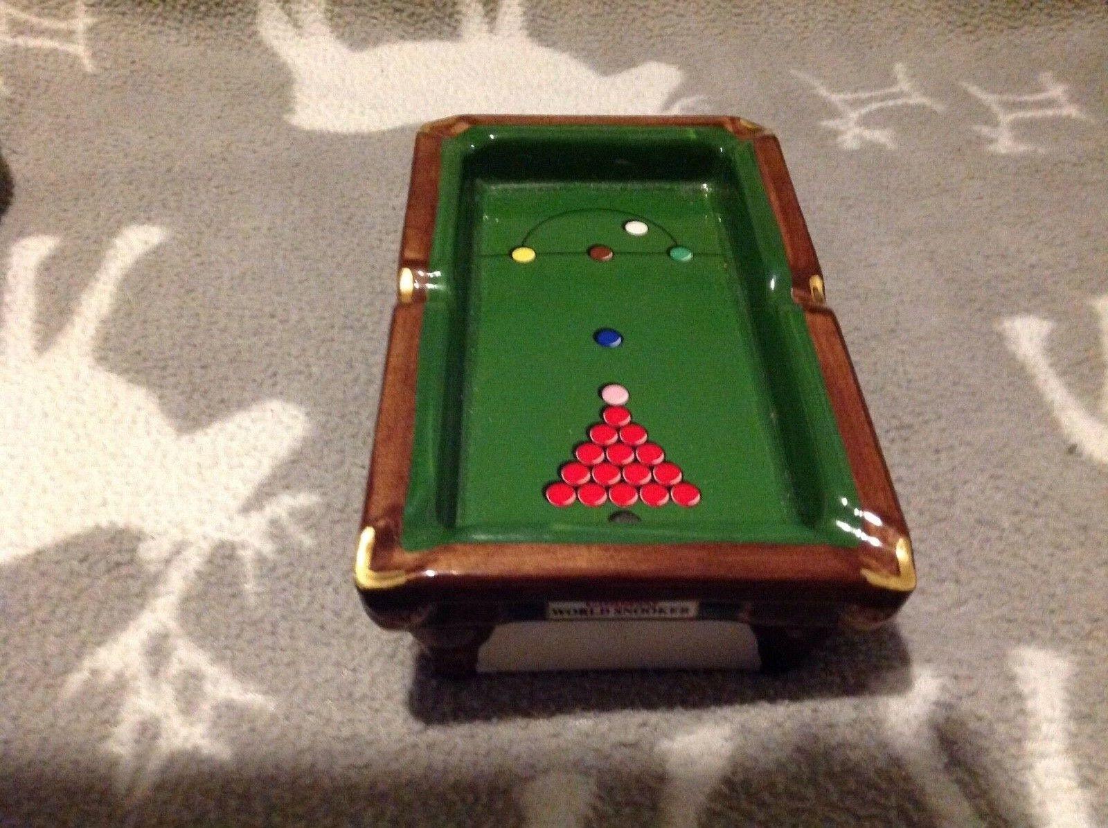 Embassy World Snooker Table Ashtray LTD Edition
