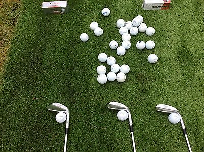 GOLF MATS, 1m2 x 1m2w, 15 boxed practice balls available ( add £7.00 per box)