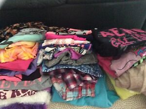Girls size 12- 30 pieces of like new tops