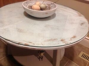 Two tier maple , shabby chic painted coffee table.  Belleville Belleville Area image 6