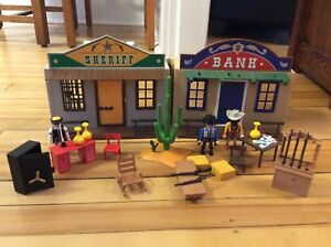 Playmobil Western Bank and Sheriff's Office