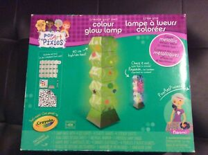 New Create Your Own Colour Glow Lamp Kit