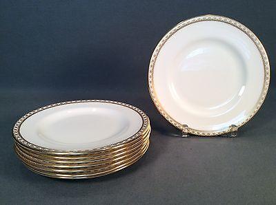 Wedgwood China Ulander Gold Bread & Butter Plates - Set of 8