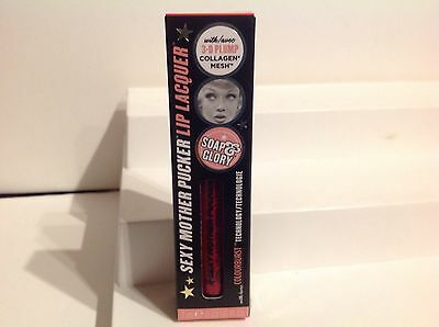 Soap & Glory Sexy Mother Pucker 3-D Plumping Lip Lacquer NIB. -- RIOT