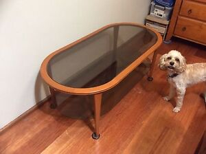 Cheswell Timber and Glass Coffee Table Seven Hills Blacktown Area Preview