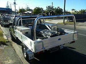 BRAND NEW - Tradesman rack / Ladder rack set for traybody utes Mermaid Beach Gold Coast City Preview