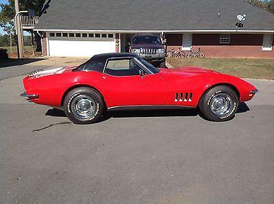1968 Chevrolet Corvette Base Convertible 2-Door 1968 Chevrolet Corvette Base Convertible