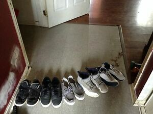 5 pairs of shoes