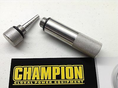 Champion 2000w Inverter Generator Oil Fill Drain Plug Combo Kit - New Model