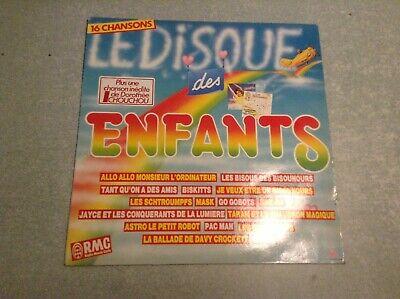 Disque vinyle 33 tours (b) le disque des enfants