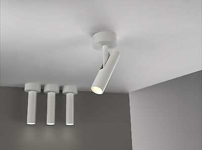 Diseñador LED Aplique Lámpara de techo MIB 3 Nordlux Blanco pared 76681001