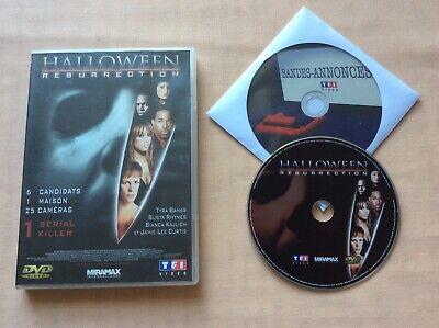 DVD Halloween Résurrection Tyra Banks Busta Rhymes DVD VIDEO FILM PAL VF