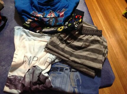 Star Wars Clothes X 6 pieces Size L