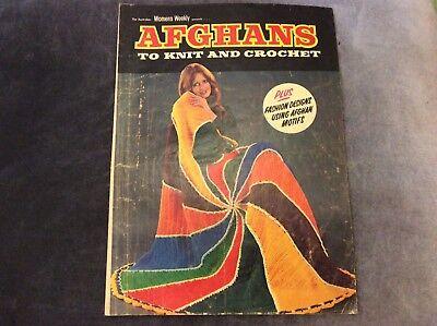 Винтажные Australian Women's Weekly - Afghans
