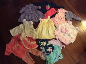 Lot of baby girl spring/summer clothes, size 3-6 months C