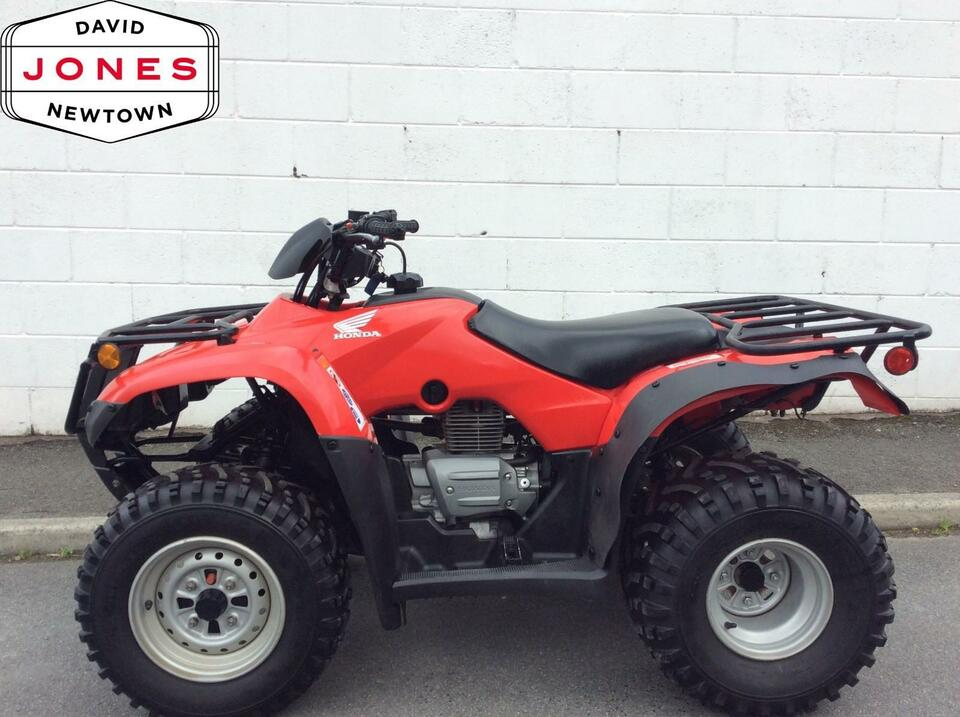2012 HONDA TRX250S TM 4x2 Manual-Shift FOURTRAX 2WD QUAD BIKE ATV FOUR WHEELER!