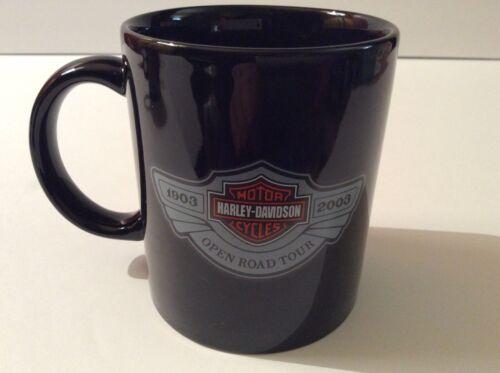 HARLEY DAVIDSON MUG~CUP~100TH ANNIVERSARY~UNUSED