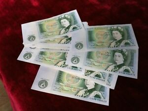 1978-1983 BANK OF ENGLAND ONE POUND £1 NOTE CRISP 100% GENUINE UK TRUSTED SELLER
