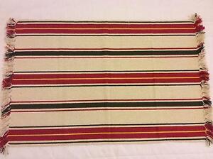 Multi Coloured Striped Rugs