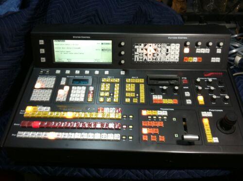 "Ross Synergy 1 Digital Production Switch Board Control Panel w/ 3.5"" floppy"