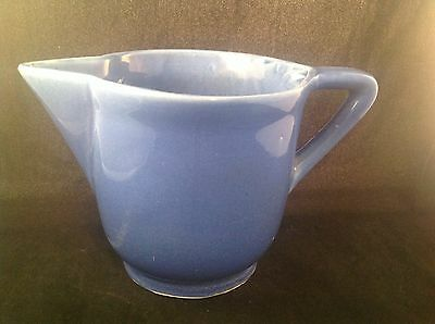 Cameron Clay Products Blue Sevilla Pitcher 1938-1954