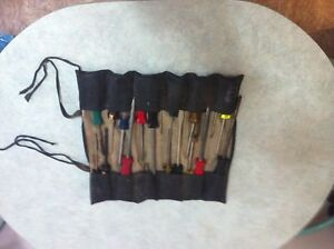 Screwdriver Set in Roll-up Pouch