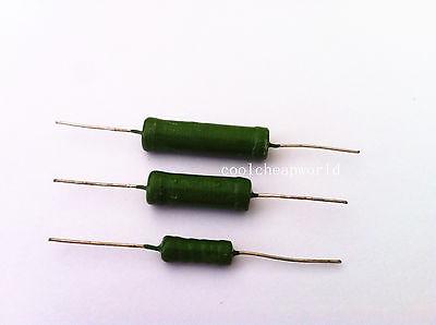 20pcs 3w 1 Ohm 5 Tolerance Fixed Type Wire Wound Resistors Power Resistors