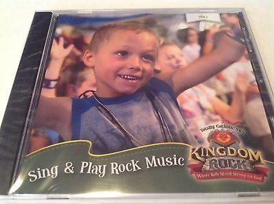 Sing & Play Rock Music Totally Catholic VBS Kingdom Rock 2013 CD NEW](Kingdom Rock Vbs)