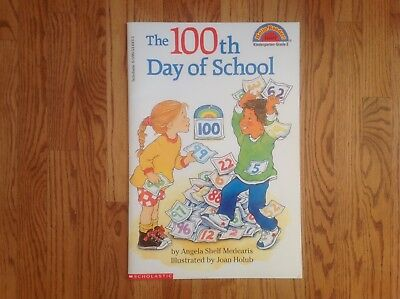 Teacher Big Book THE 100th DAY OF SCHOOL Reader SHARED READING Scholastic - 100th Day Of School Books