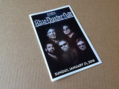 BLUE OYSTER CULT PROGRAM FROM JANUARY 21, 2018 MARYLAND HALL, ANNAPOLIS, MD BOC