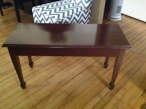 Antique Piano Bench For Sale