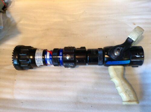 TFT Dual Force Nozzle w/ Grip - Dual Pressure Fire Hose Nozzle w/ Pistol Grip