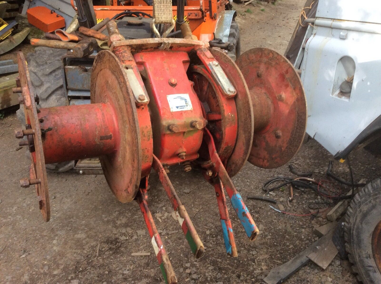 Igland Tractor Timber winch. 4t