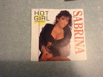 Disque vinyle 45 tours / Sabrina, hot girl