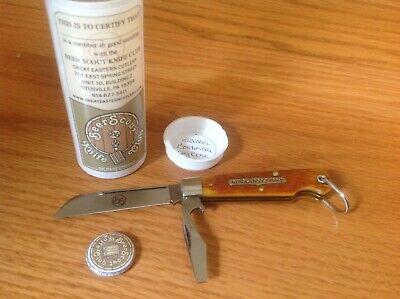 GREAT EASTERN CUTLERY 153216CL Beer Scout Golden Ale Jig Bone. Original Tube.