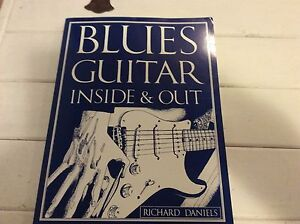 Guitar book - Blues guitar inside & out book