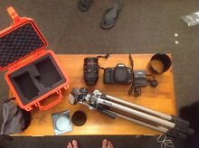 Canon EOS 5D Mark II and 24-70mm L series lens with extras Glebe Hobart City Preview