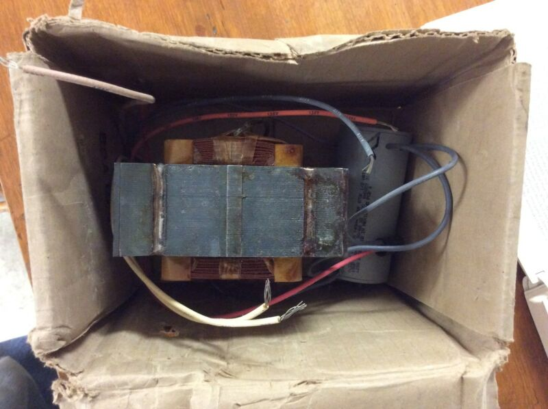 SYLVANIA BALLAST 47610-0 COMPLETE WITH CAPACITOR