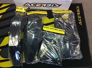 Acerbis Plastics Kit Suzuki DRZ400 Black DRZ DRZ400E