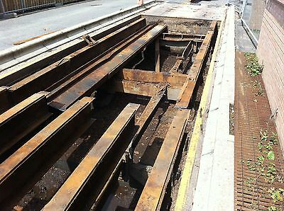 Weighbridge, with excellent deck plates removed to find rotten girders ! But it looked good from the top !